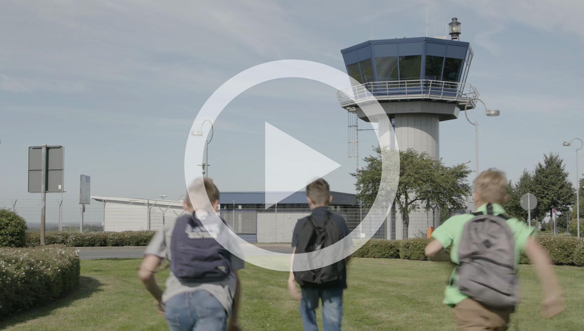Dortmund airport film ueber den tower