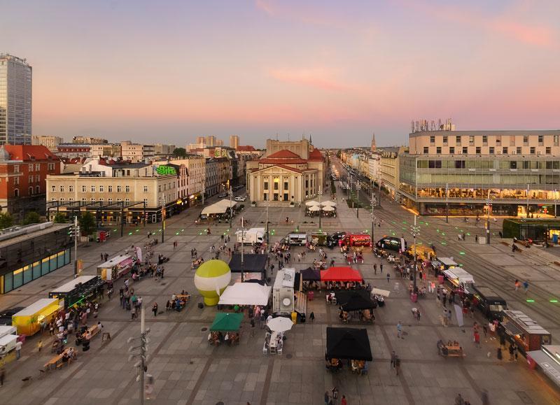 Kattowitz square