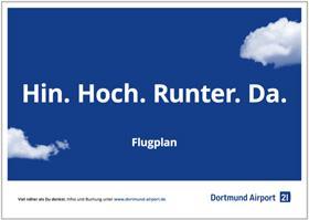 Flugplan des Dortmund Airports