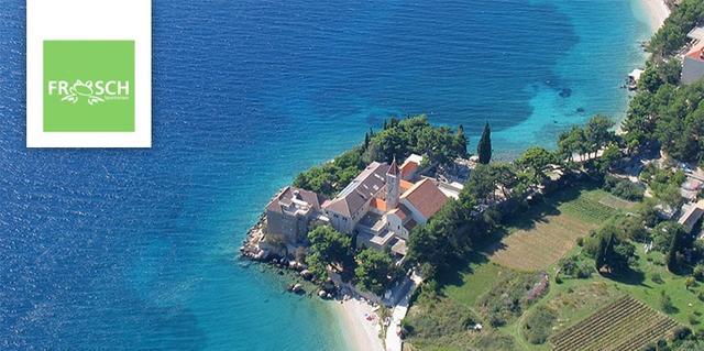 Küstenabschnitt von Kroatien