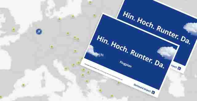 Dortmund sommerflugplan 2017