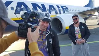 Djtour off we go mit ryanair und dortmund airport