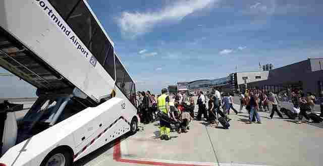 Port lotniczy w dortmundzie podsumowuje wakacje