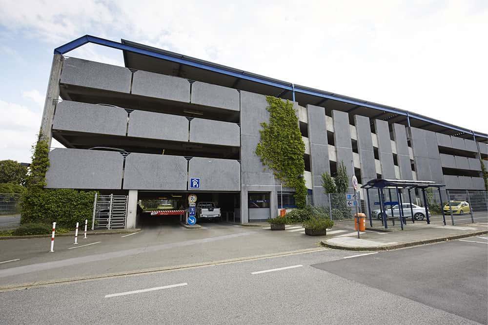 Dortmund airport parkhaus p5 1