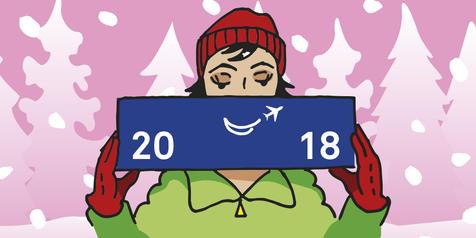 Der Dortmund Airport wünscht frohe Weihnachten und einen guten Rutsch in 2018