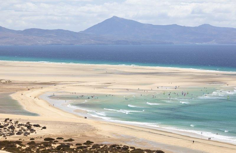 Playas de sotavento fuerteventura