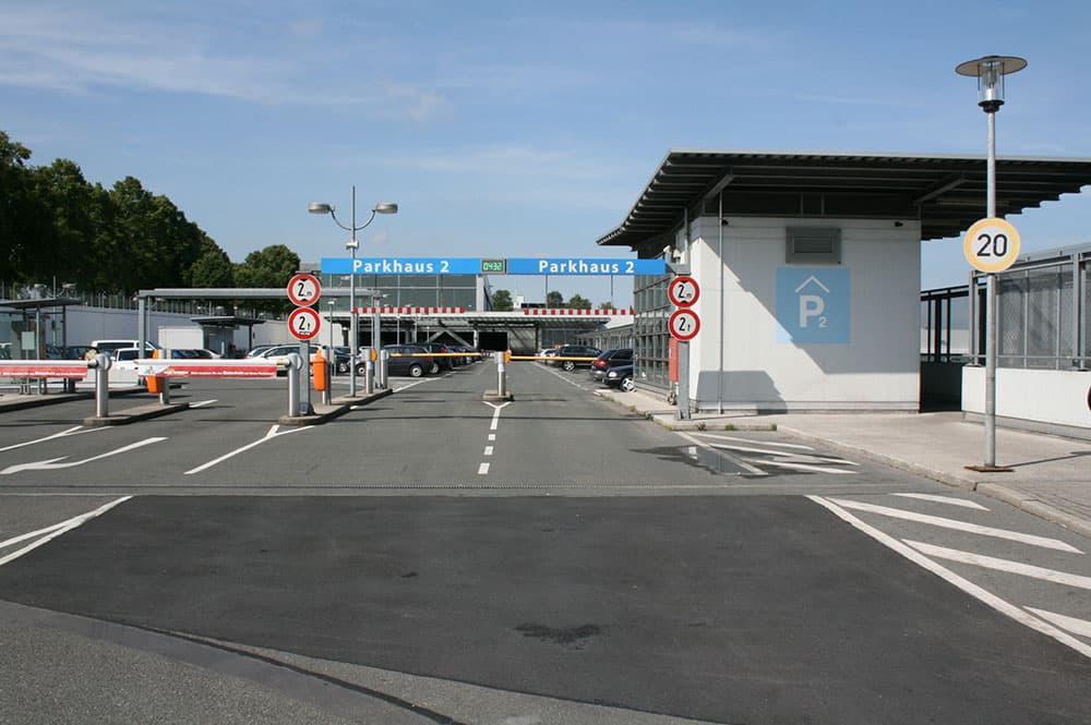 Dortmund airport parkhaus p2 1