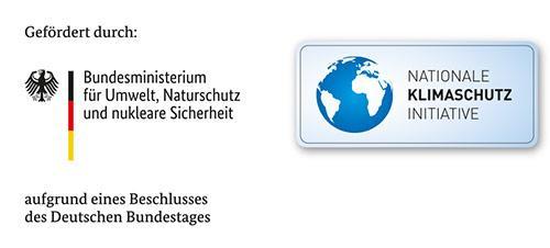 Förderhinweis der Nationalen Klimaschutzinitiative (NKI) und des BMU