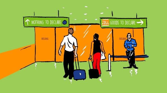 Zollbestimmungen dortmund airport