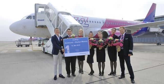 Wizz Air: Bereit zum Abflug nach Olsztyn-Mazury