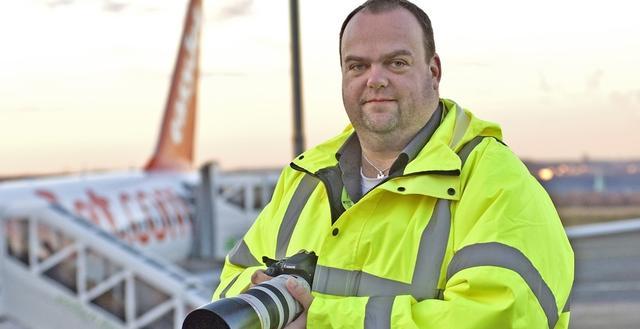Sascha Kamrau, Plane Spotter am Dortmund Airport
