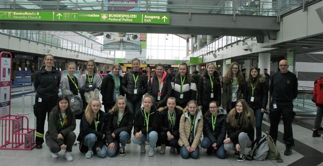 Girls'Day 2019 am Dortmund Airport