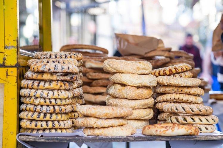 Athen traditionelles koulouri
