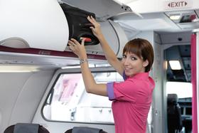 Wizz Air, Dortmund Airport, Crew, Stewardess
