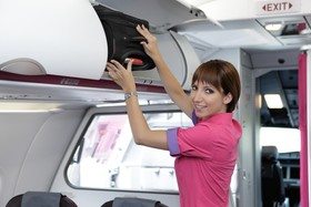 Wizz Air, Dortmund Airport, Crew, Stewardess