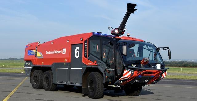 Panther 6x6 Löschfahrzeug Flughafen-Feuerwehr