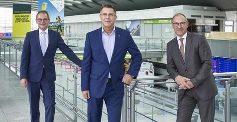 Geschäftsführer-Wechsel am Dortmund Airport