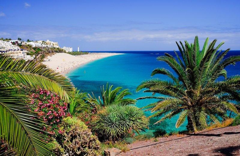 Playa de morro jable fuerteventura