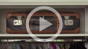 Service-Film zum Aufgabegepäck für Flugreisen