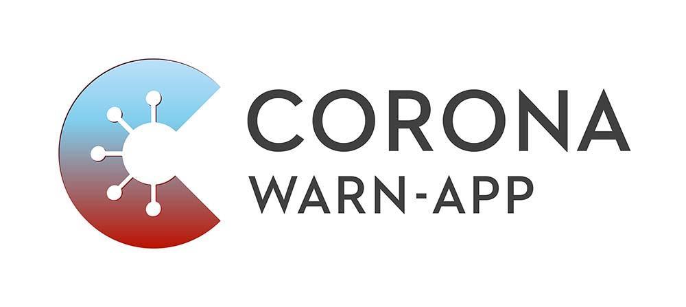 Corona warn app wortbildmarke