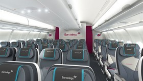 Die Eurowings-Kabine der Kategorie Basic © Eurowings