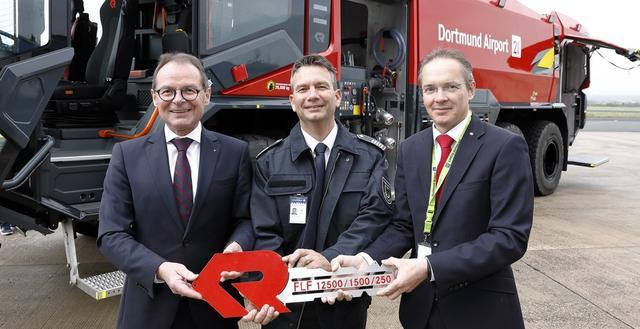 Neue PANTHER-Generation für die Flughafenfeuerwehr Dortmund