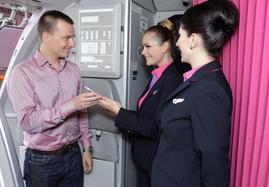 Onboarding mit Handy Ticket bei Wizz Air