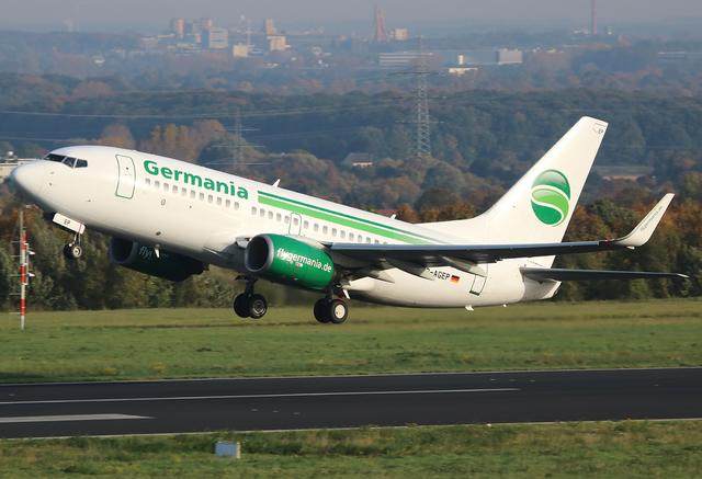 A373-700 - Germania Flugzeug