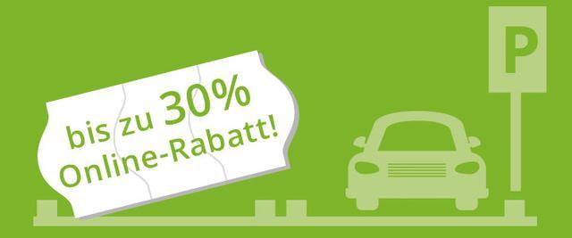 30% Rabatt bei   Onlinebuchung eines Parkplatzes am Dortmund Airport