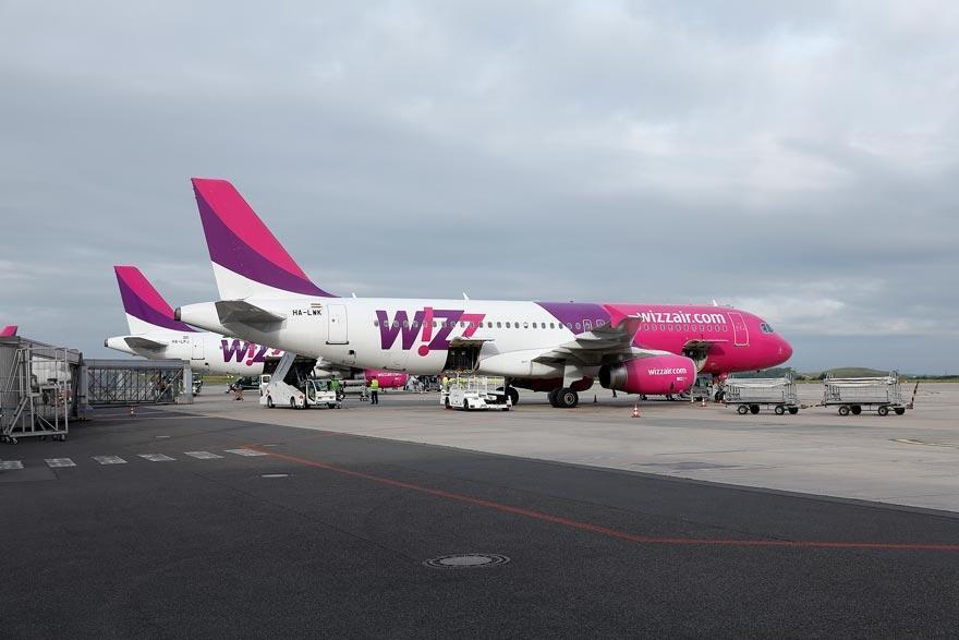 Wizz air flugzeuge ohrid vorfeld dortmund airport