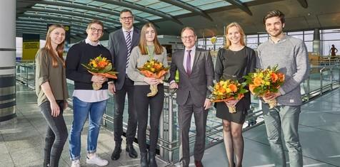 News:Flughafen-Azubis beenden Ausbildung erfolgreich