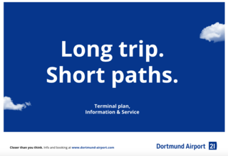 Terminal plan Dortmund Airport