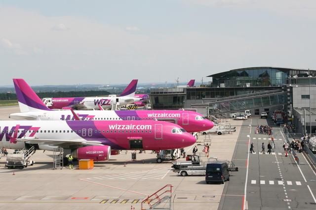 Mit Wizz Air von Dortmund nach Wien