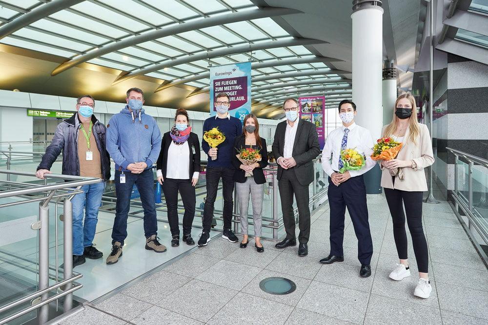 Flughafen dortmund servicekaufleute im luftverkehr ausgebildet