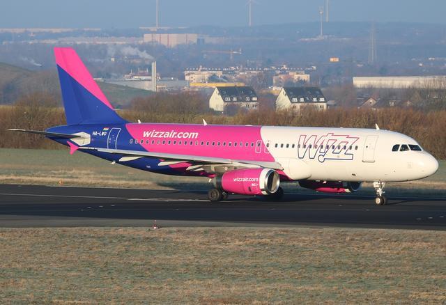 A320 - WizzAir Flugzeug