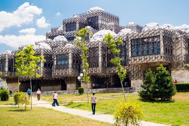 Pristina nationalbibliothek