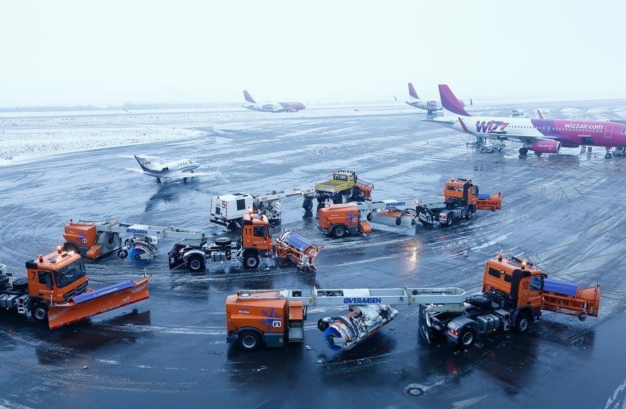 Winterdienst dortmund airport