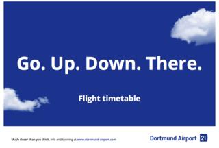 flight plan Dortmund Airport