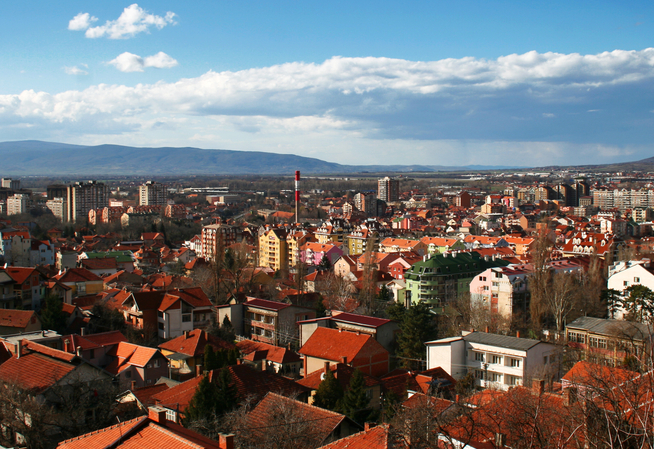 Nis city in serbia europe