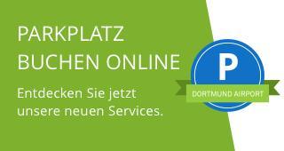 Banner Parkplatz online buchen mobil