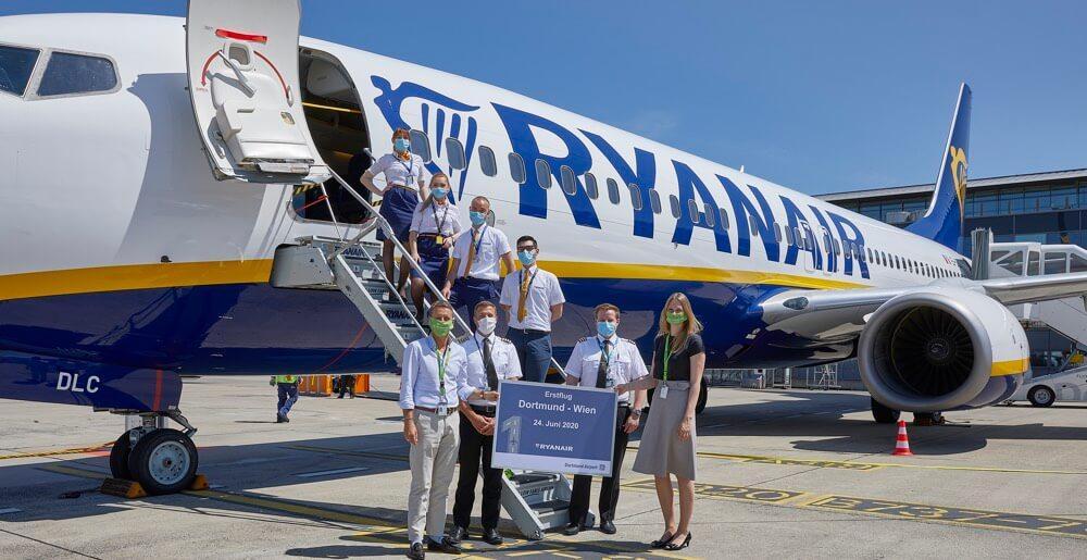 Ryanair fliegt von dortmund nach wien