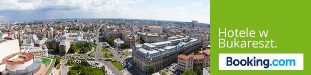 """Panoramansicht Bukarest mit Aufschrift """"Hotels in Bukarest"""""""
