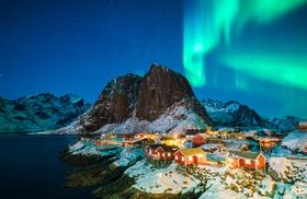 Polarlichter, Island