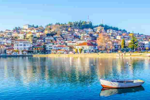 Ohrid mazedonien