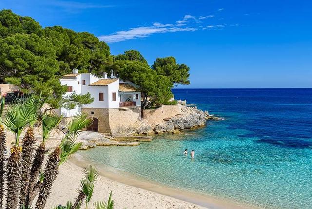 Haus in der Bucht von Cala Gat auf Mallorca
