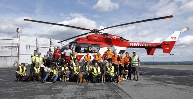 Die Hundestaffel der Feuerwehr Hamm am Dortmund Airport