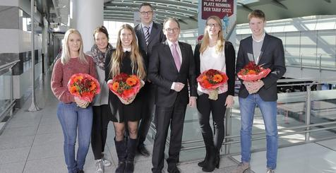 Azubi-Verabschiedung Dortmund Airport