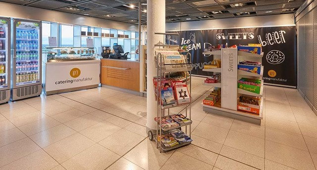 Shop take away abflug dortmund airport