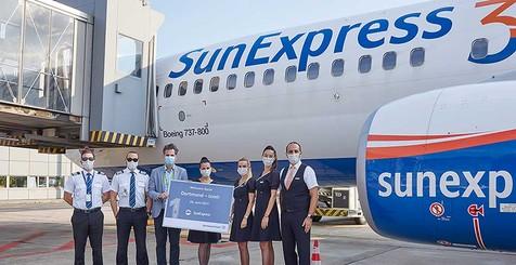 Erstflug nach Corona-Pause: SunExpress von Dortmund nach Izmir