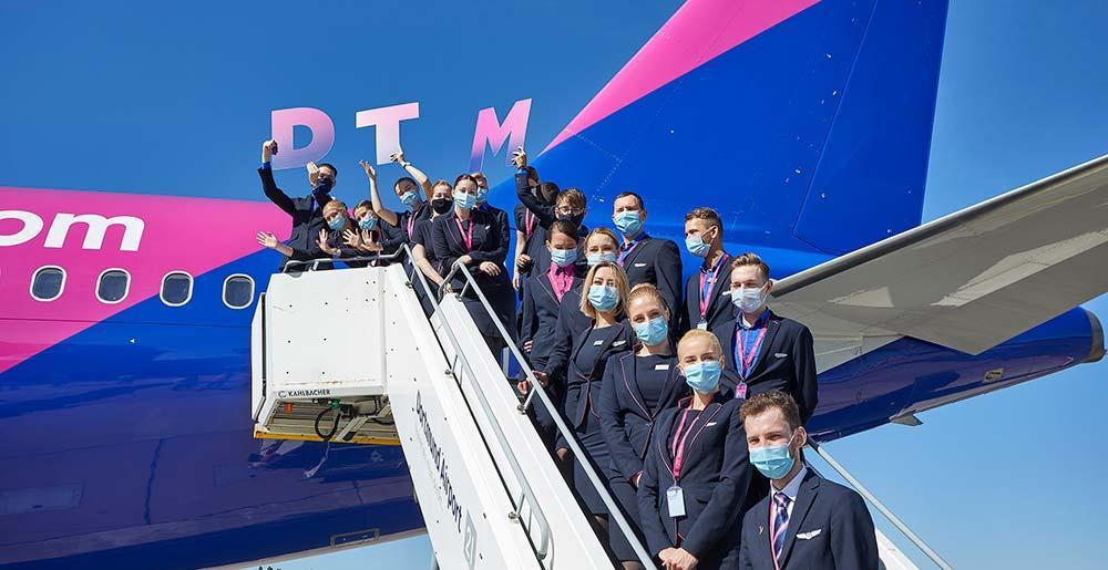Wizz air dtm crew